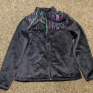 Women's Fila Sport Biella print perf fleece Jacket
